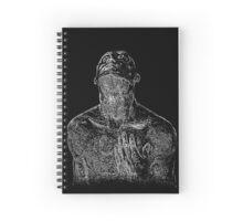 Sculptural Spiral Notebook