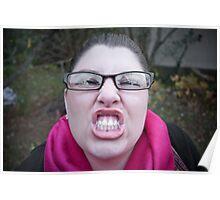 Baring Teeth Poster