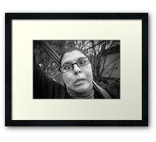 My Crazy Wife - Take 2 Framed Print