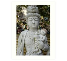 buddha momma Art Print