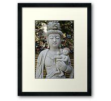 buddha momma Framed Print