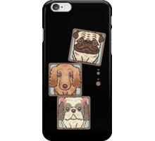 Square Dogs iPhone Case/Skin