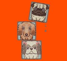 Square Dogs Kids Tee