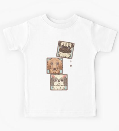 Square Dogs Kids Clothes