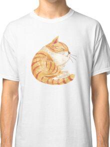 Tabby sleeping Classic T-Shirt