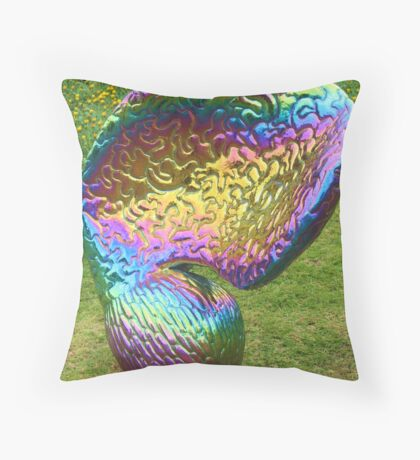 Rainbow Seed Throw Pillow