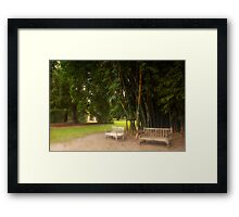 My favorite place Framed Print