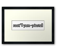 root:~# yum -y install  Framed Print