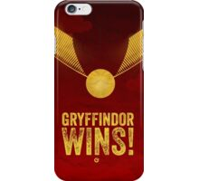 Gryffindor Wins - Harry Potter - Cinema Obscura Collection iPhone Case/Skin