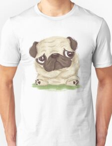 Thoughtful pug T-Shirt