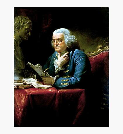 Ben Franklin Painting Photographic Print