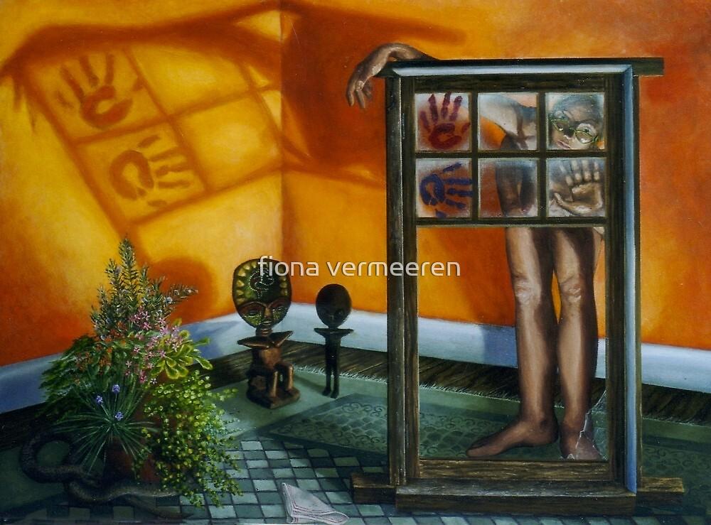The Window, oil on canvas, 2000 by fiona vermeeren