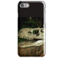 Out-Distancing Dinosaurs iPhone Case/Skin