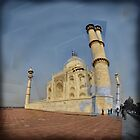 Taj Mahal, Agra, India by Catherine Ames