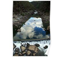 Cataract Gorge reflection Poster