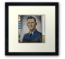 Jim du Boulay-Royal Australian Air Force 1945. Framed Print