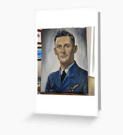 Jim du Boulay-Royal Australian Air Force 1945. Greeting Card
