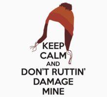 Keep Calm Jane Cobb Hat Design Kids Tee