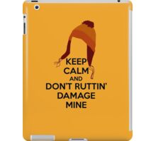 Keep Calm Jane Cobb Hat Design iPad Case/Skin