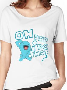 wobbaffet pokemon did i do that? Women's Relaxed Fit T-Shirt