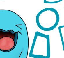 wobbaffet pokemon did i do that? Sticker