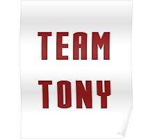 Team Tony Poster