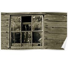 Historic Miners Shack, Index Washington Poster