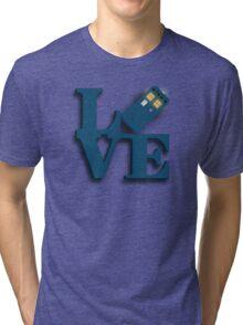 Doctor Who Love Tardis Tri-blend T-Shirt