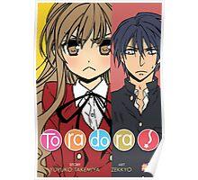 Toradora! Manga Cover Poster
