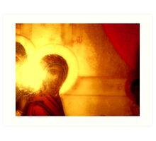 Sifnos Folk Icon 17 Art Print