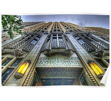 Art Deco Gothic - BMA House c1929-30 - The HDR Experience Poster