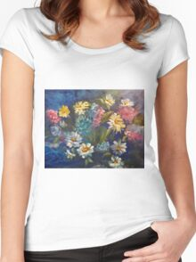 Daisies 11 Women's Fitted Scoop T-Shirt