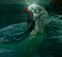 Forbidden Moonlight Embrace by zohr