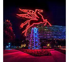 Pegasus Dallas Photographic Print