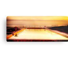 Golden Pool-Blackhead Great Lakes NSW Metal Print