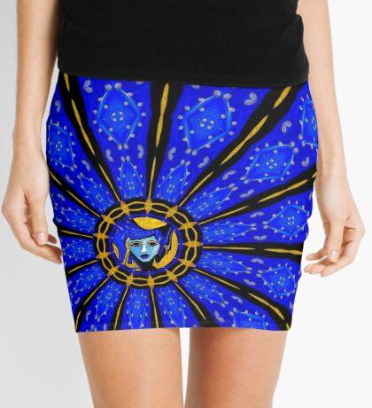 Betsy in Pattern Mini Skirt