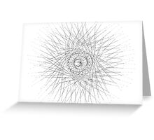 Spirograph 3 Greeting Card