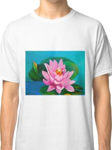 Pink Lily Pad Classic T-Shirt