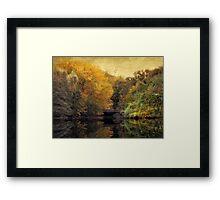 Gilded Autumn Framed Print