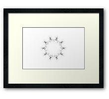 Spirograph 6 Framed Print
