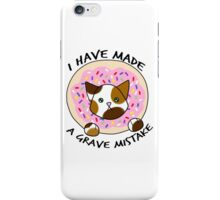 Grave Mistake iPhone Case/Skin