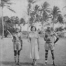 3 people - palm island by Soxy Fleming