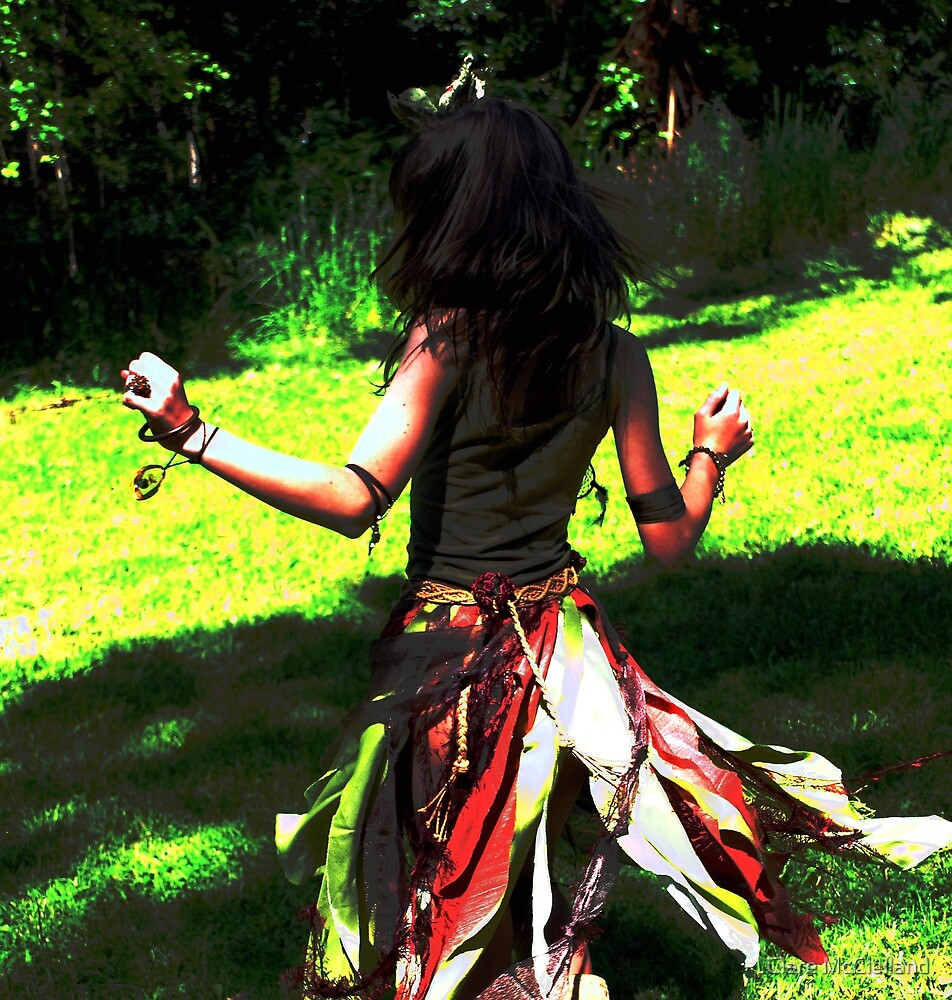 Earth Dancer 1 by Clare McClelland