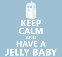 Keep Calm and Have a Jelly Baby One Piece - Short Sleeve