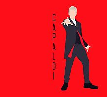 12th Doctor Peter Capaldi minimalist by JSKerberDesigns