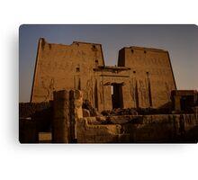 Temple of Edfu Canvas Print