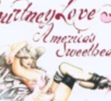 Courtney Love America's Sweetheart Sticker Sticker