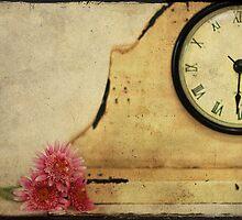 As She Slept...He Left By The Back Door.... by Carol Knudsen