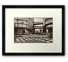 Urban City Framed Print