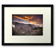 Night Night Framed Print
